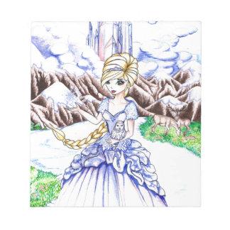 Ice Princess Memo Notepad