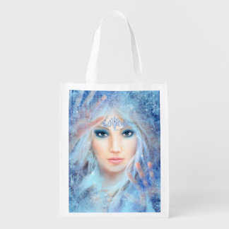 Ice Princess Reusable Grocery Bag