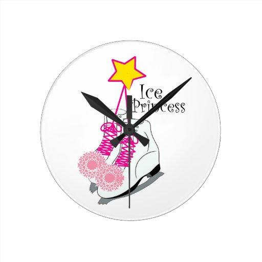 Ice Princess Round Wallclock