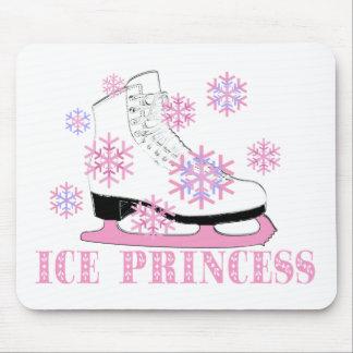 Ice Princess Skate Mouse Pad