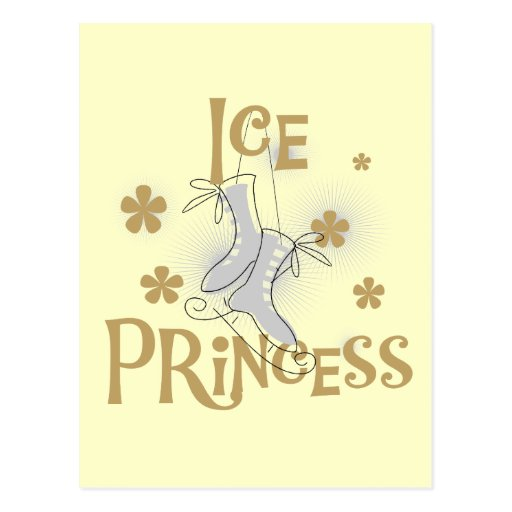 Ice Princess Tshirts and Gifts Post Cards