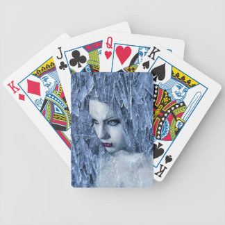 ice queen bicycle playing cards