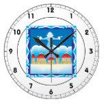 Ice Queen Clock