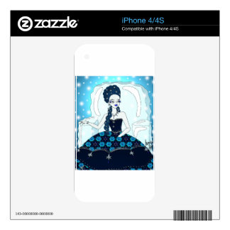 Ice Queen Decals For The iPhone 4S
