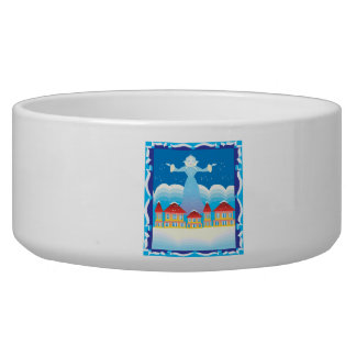 Ice Queen Dog Food Bowls