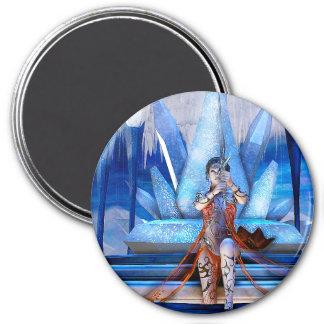 Ice Queen Fantasy Art Magnet