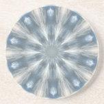 Ice Queen Kaleidoscope Coasters