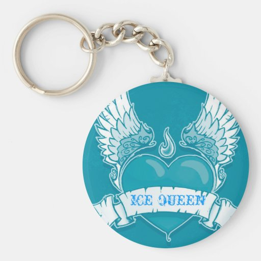 """ICE QUEEN' Key Chain"