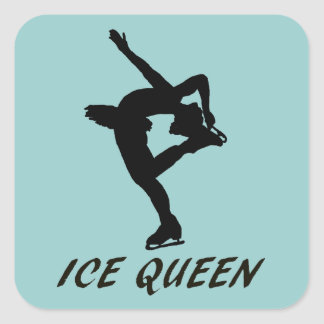 Ice Queen Square Sticker