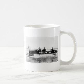 Ice Racing, Duluth, 1910s Coffee Mug