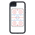 Ice Rink Diagram Hockey Game Companion Case For iPhone 5