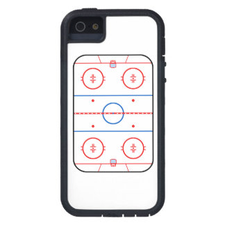Ice Rink Diagram Hockey Game Companion Case For iPhone SE/5/5s