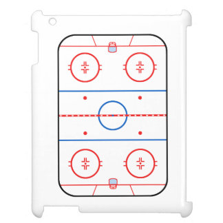 Ice Rink Diagram Hockey Game Companion Cover For The iPad 2 3 4