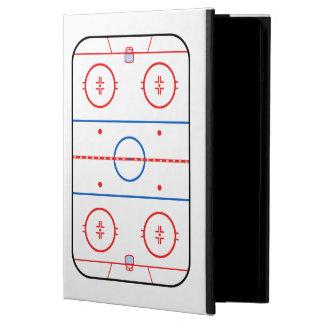 Ice Rink Diagram Hockey Game Companion iPad Air Cover