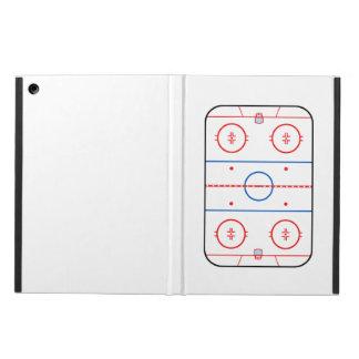 Ice Rink Diagram Hockey Game Companion iPad Air Case