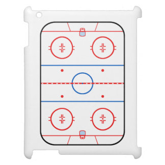 Ice Rink Diagram Hockey Game Companion iPad Cases