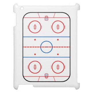 Ice Rink Diagram Hockey Game Companion iPad Cases