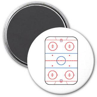 Ice Rink Diagram Hockey Game Companion Magnet