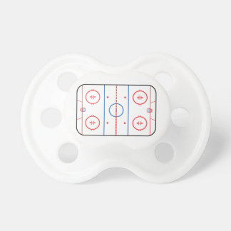 Ice Rink Diagram Hockey Game Companion BooginHead Pacifier