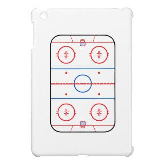 Ice Rink Diagram Hockey Game Graphic iPad Mini Cover
