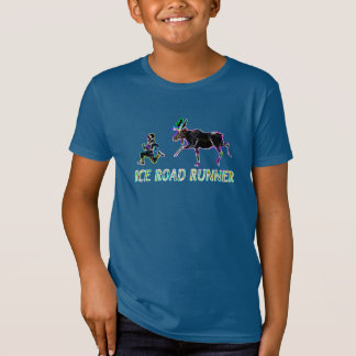 Ice Road Runner - Electric T-Shirt