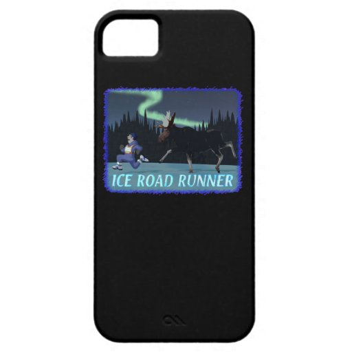Ice Road Runner iPhone 5 Cases