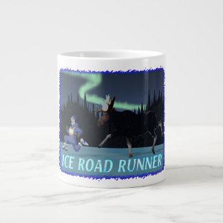 Ice Road Runner Large Coffee Mug