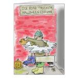 Ice Road Trucker Halloween Costume Card