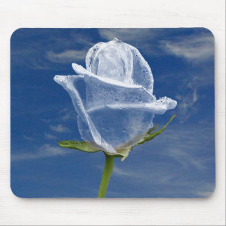 Ice Rose Mouse Pad