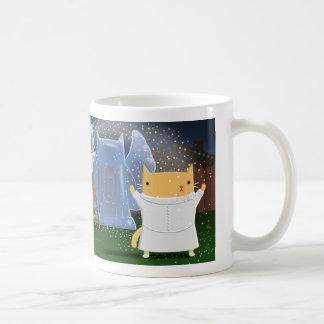 Ice Sculpture Kitty Coffee Mug