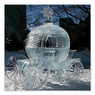 Ice Sculpture Poster