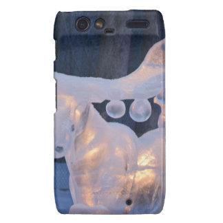 Ice Sculpture Snow Frozen Winter Seasons Weather Motorola Droid RAZR Cover