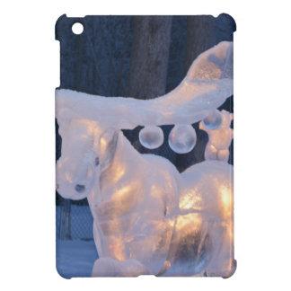 Ice Sculpture Snow Frozen Winter Seasons Weather Case For The iPad Mini
