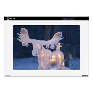 "Ice Sculpture Snow Frozen Winter Seasons Weather Skins For 15"" Laptops"