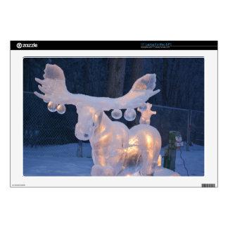 "Ice Sculpture Snow Frozen Winter Seasons Weather Skins For 17"" Laptops"