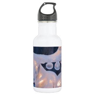 Ice Sculpture Snow Frozen Winter Seasons Weather Stainless Steel Water Bottle