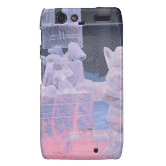 Ice Sculpture Sporting Artist Carving Arctic Gifts Droid RAZR Covers