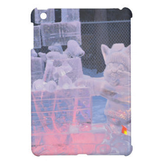 Ice Sculpture Sporting Artist Carving Arctic Gifts Cover For The iPad Mini