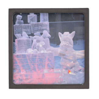 Ice Sculpture Sporting Artist Carving Arctic Gifts Gift Box