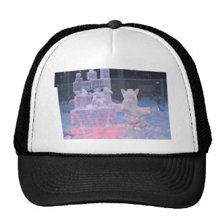 Ice Sculpture Sporting Artist Carving Arctic Gifts Trucker Hat