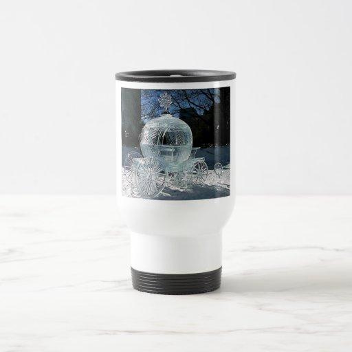 Ice Sculpture Travel Mug