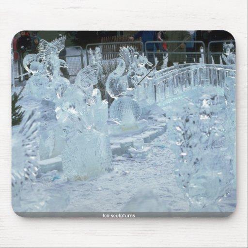 Ice sculptures mousepad