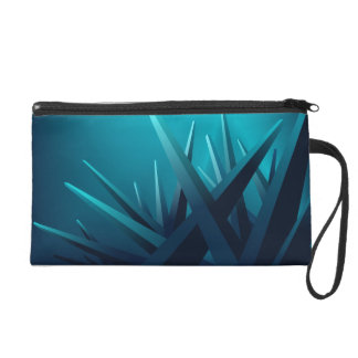 Ice Shards Wristlet Clutches