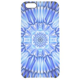 Ice Shards Mandala Clear iPhone 6 Plus Case
