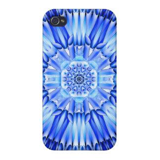 Ice Shards Mandala iPhone 4/4S Cover