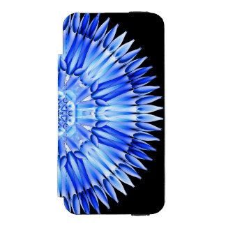 Ice Shards Mandala iPhone SE/5/5s Wallet Case