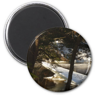 Ice Sheet 2 Inch Round Magnet