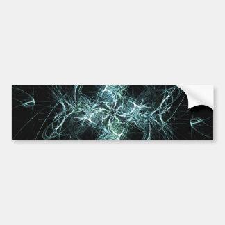 Ice Shuriken Bumper Sticker