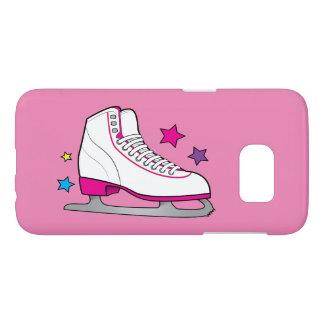 Ice Skate in Pink Samsung Galaxy S7 Case