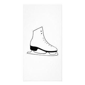 Ice Skate Photo Card